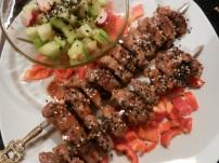 Rindfleisch-Saté-Spieße